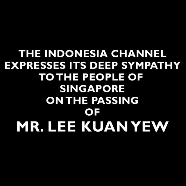 MR. LEE KUAN YEW
