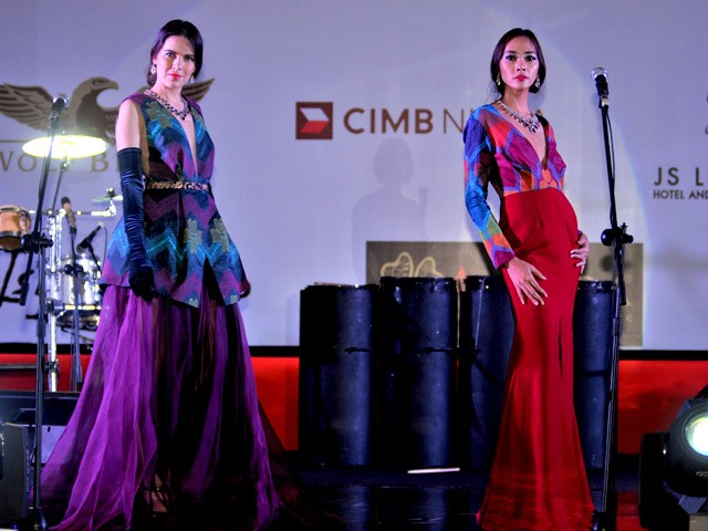 The vibrant batik designs from Alleira